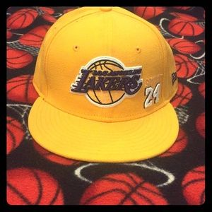Kobe Bryant #24 Los Angeles Lakers Fitted Hat